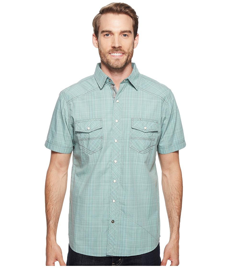 Ecoths - Somersett Short Sleeve Shirt (Wasabi) Men's Short Sleeve Button Up