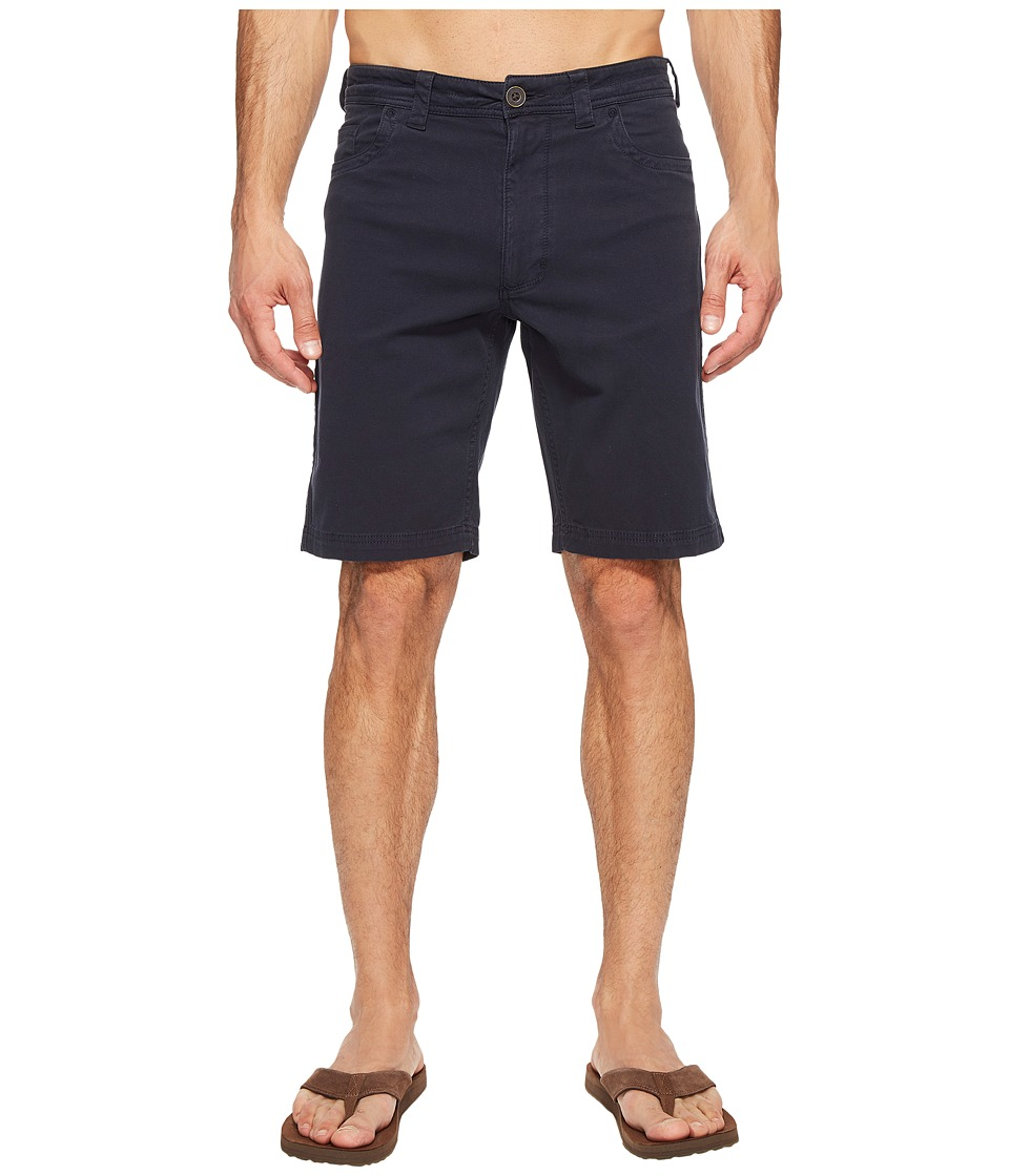 Ecoths - Bronx Shorts (Navy) Men's Shorts