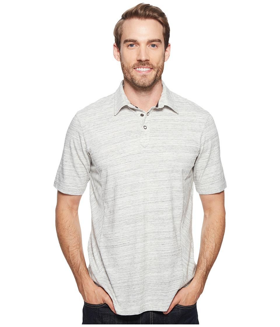Ecoths - Baxter Polo Shirt (Phantom) Men's Short Sleeve Knit
