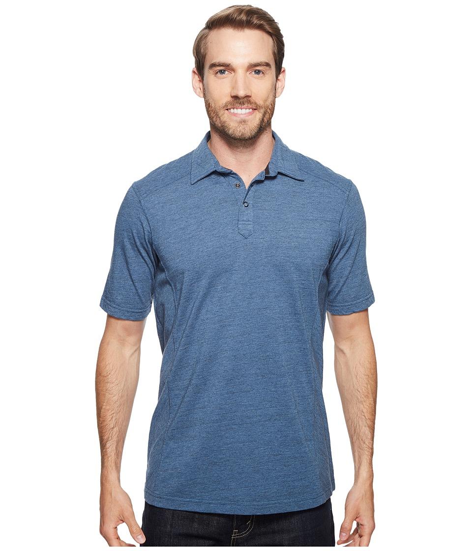 Ecoths - Baxter Polo Shirt (Bering Sea) Men's Short Sleeve Knit