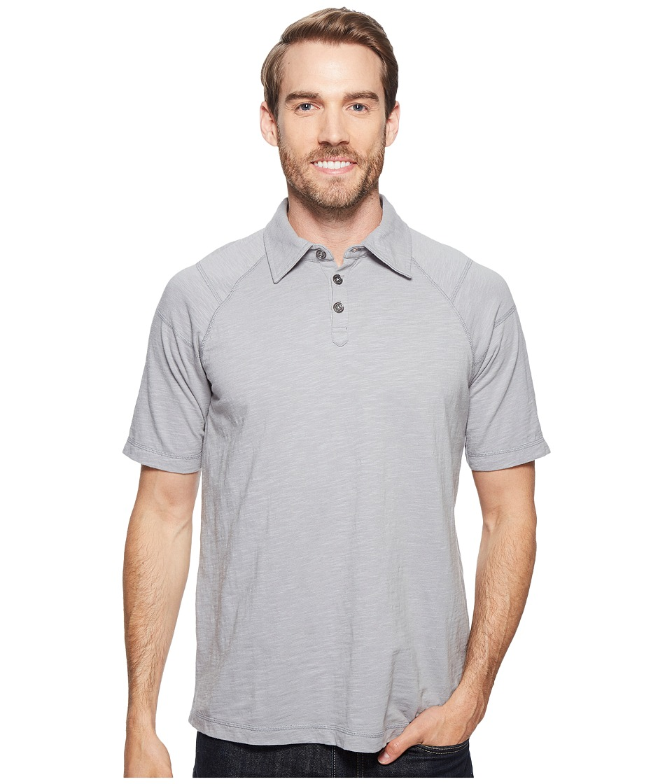 Ecoths - Liam Polo (Griffin Grey) Men's Short Sleeve Pullover
