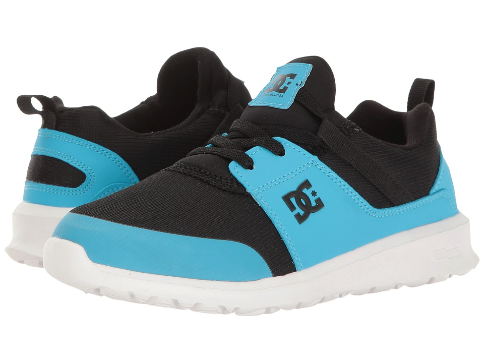 DC Kids - Heathrow Prestige (Little Kid/Big Kid) (Black/Blue) Boys Shoes