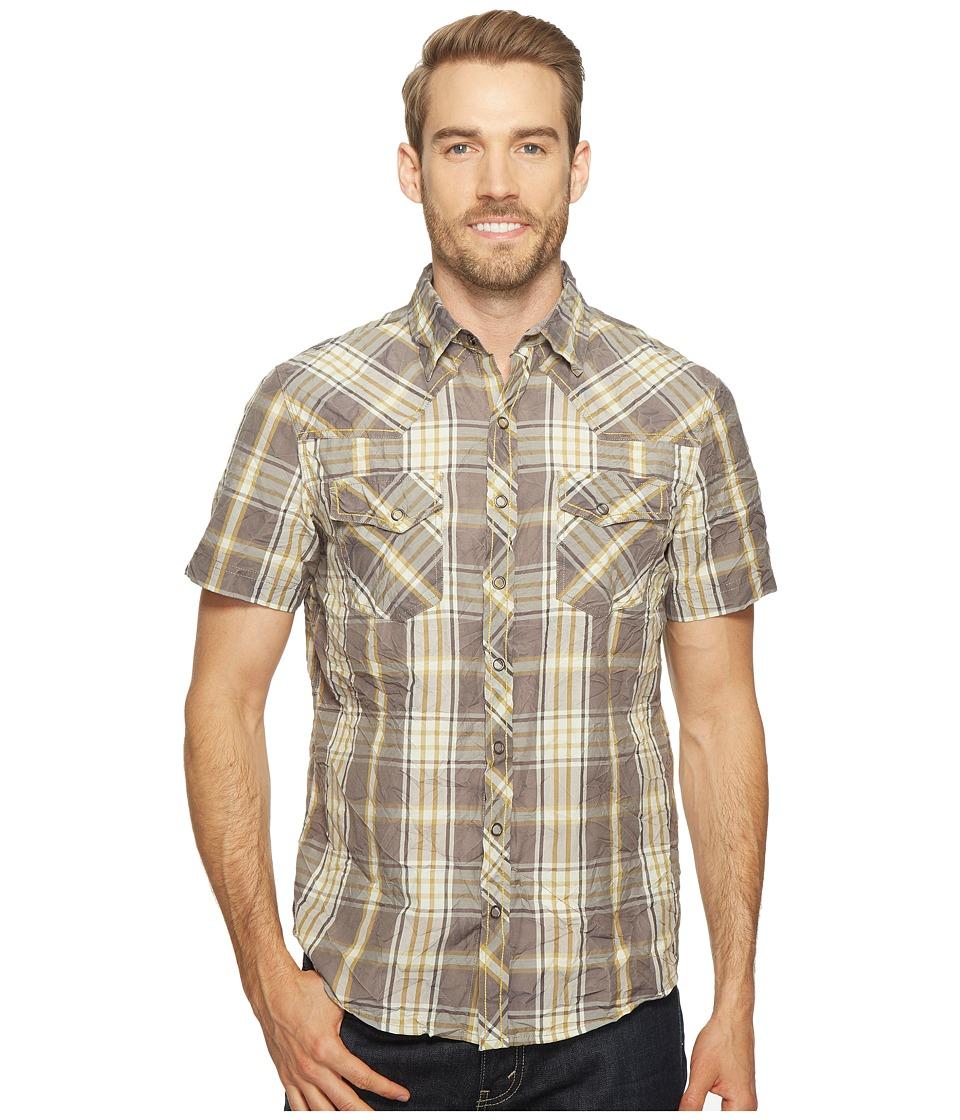 Ecoths - Donovan Short Sleeve Shirt (Smoked Pearl) Men's Short Sleeve Button Up
