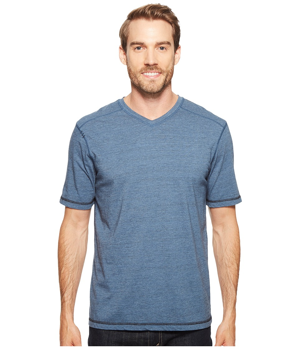 Ecoths - Newman V-Neck Shirt (Bering Sea) Men's T Shirt
