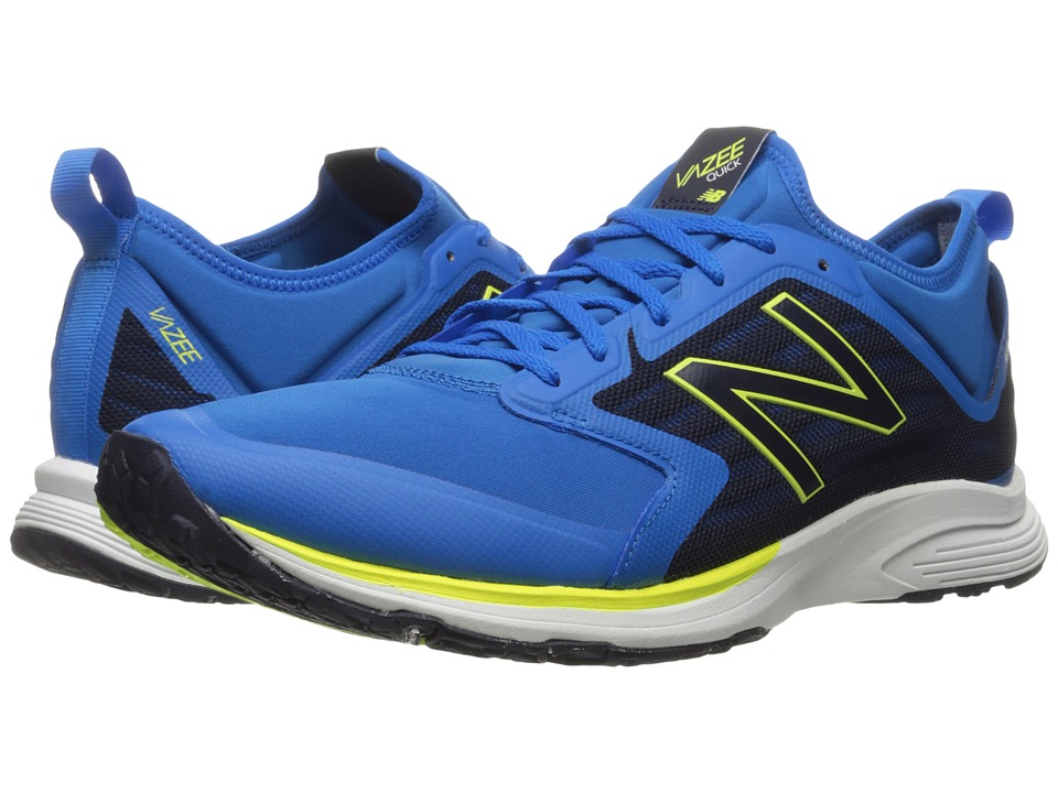 New Balance - MXQIKv2 (Electric Blue/Dark Denim) Men's Running Shoes