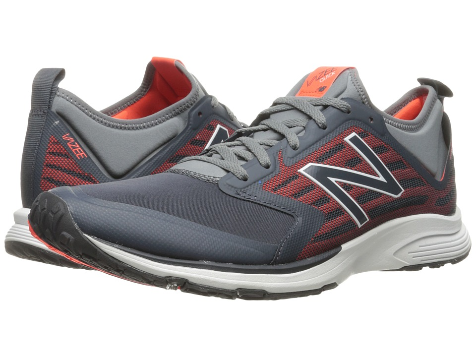 New Balance - MXQIKv2 (Thunder/Alpha Orange) Men's Running Shoes