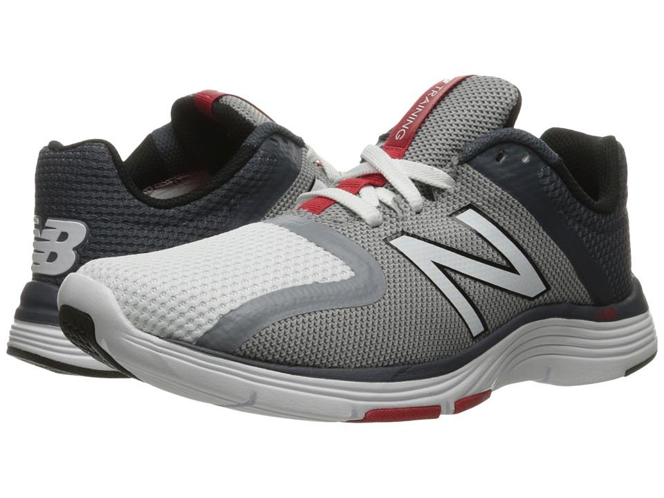 New Balance - MX818v2 (White/Steel) Men's Running Shoes