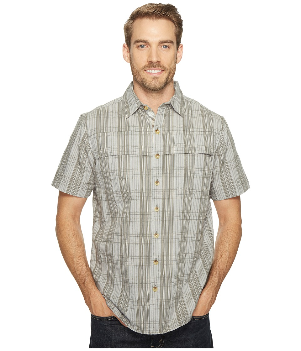 Ecoths - Travis Short Sleeve Shirt (Agave Green) Men's Short Sleeve Button Up