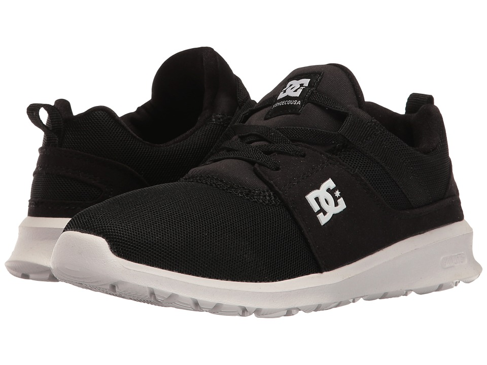 DC Kids - Heathrow (Little Kid/Big Kid) (Black/White) Boys Shoes