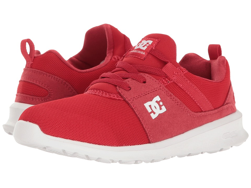 DC Kids - Heathrow (Little Kid/Big Kid) (Red) Boys Shoes