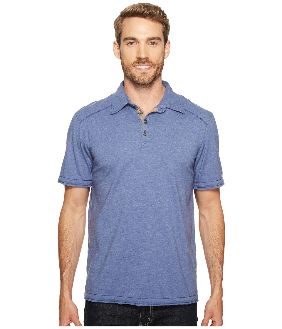 Ecoths - Garrick Polo (Coastal Fjord) Men's Short Sleeve Pullover