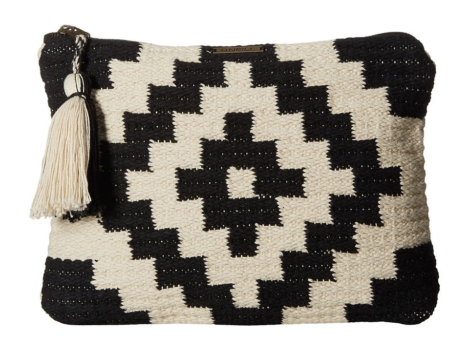 O'Neill - Trail Clutch (Black/White) Clutch Handbags