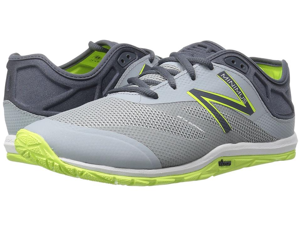 New Balance - MX20v6 (Silver Mink/Thunder) Men's Running Shoes