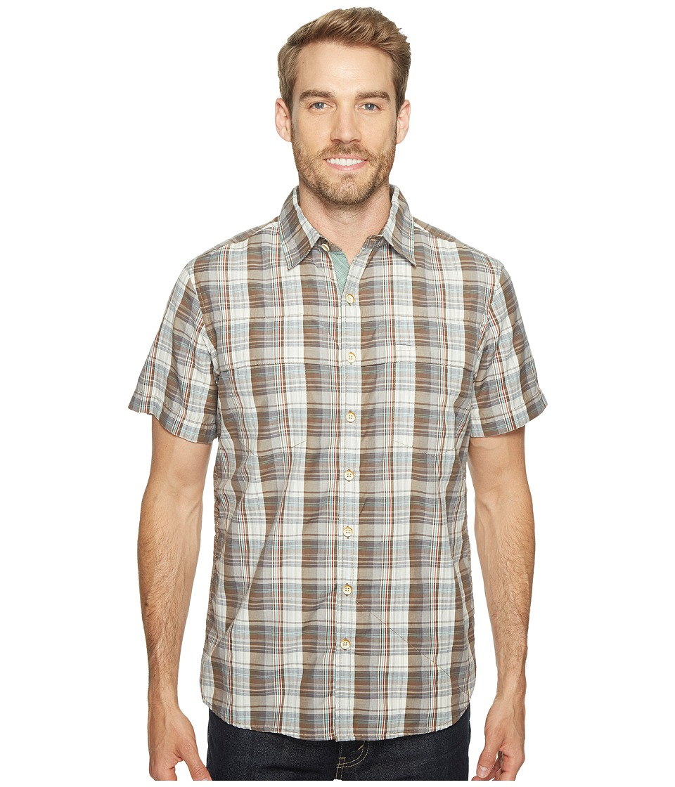 Ecoths - Carrington Short Sleeve Shirt (Brindle) Men's Short Sleeve Button Up