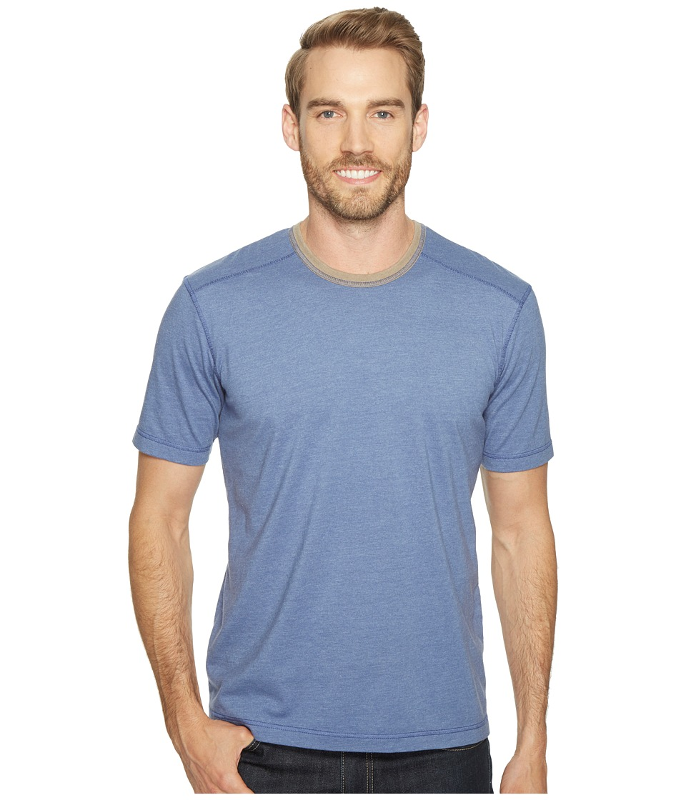 Ecoths - Asher Short Sleeve Shirt (Coastal Fjord) Men's Short Sleeve Knit