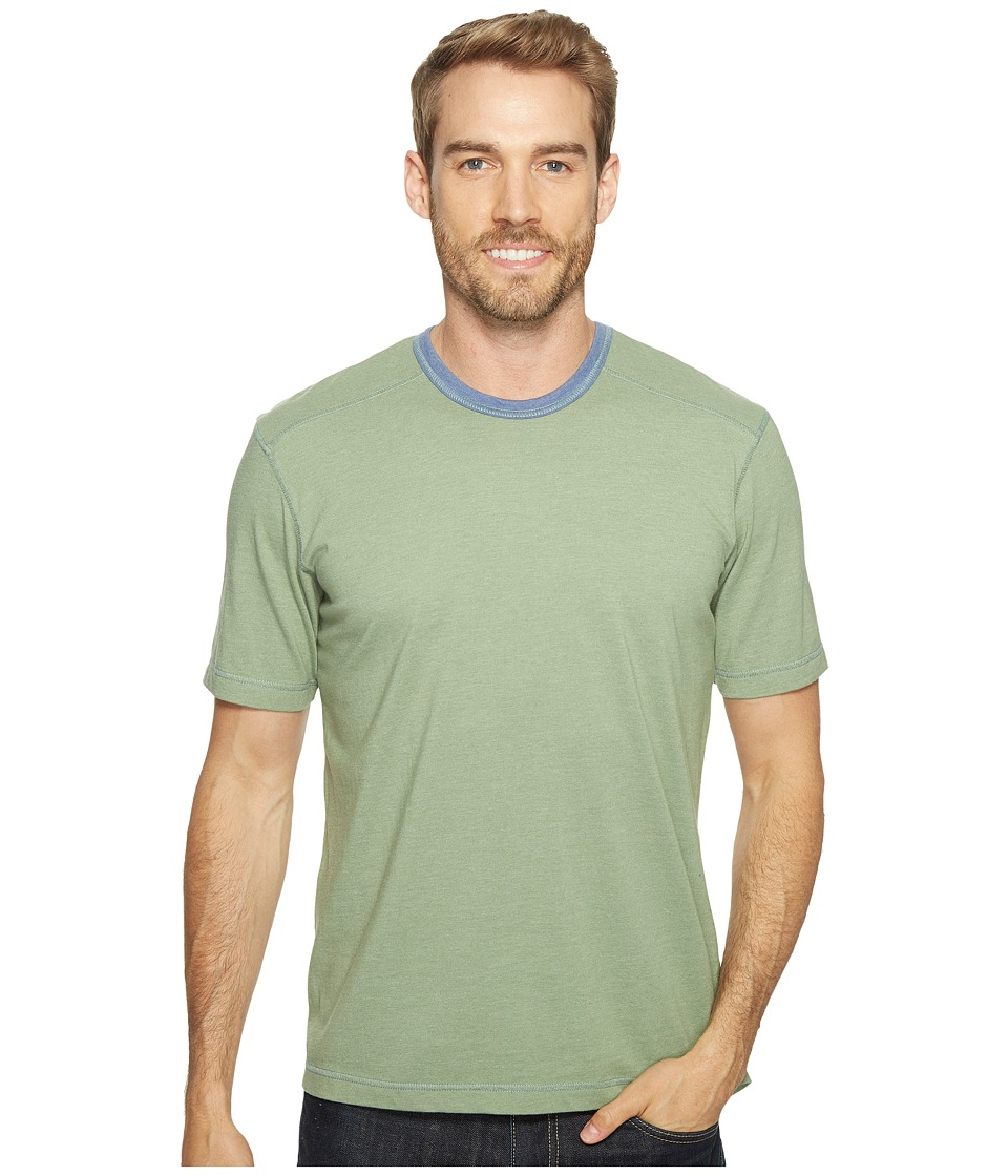 Ecoths - Asher Short Sleeve Shirt (Hedge Green) Men's Short Sleeve Knit
