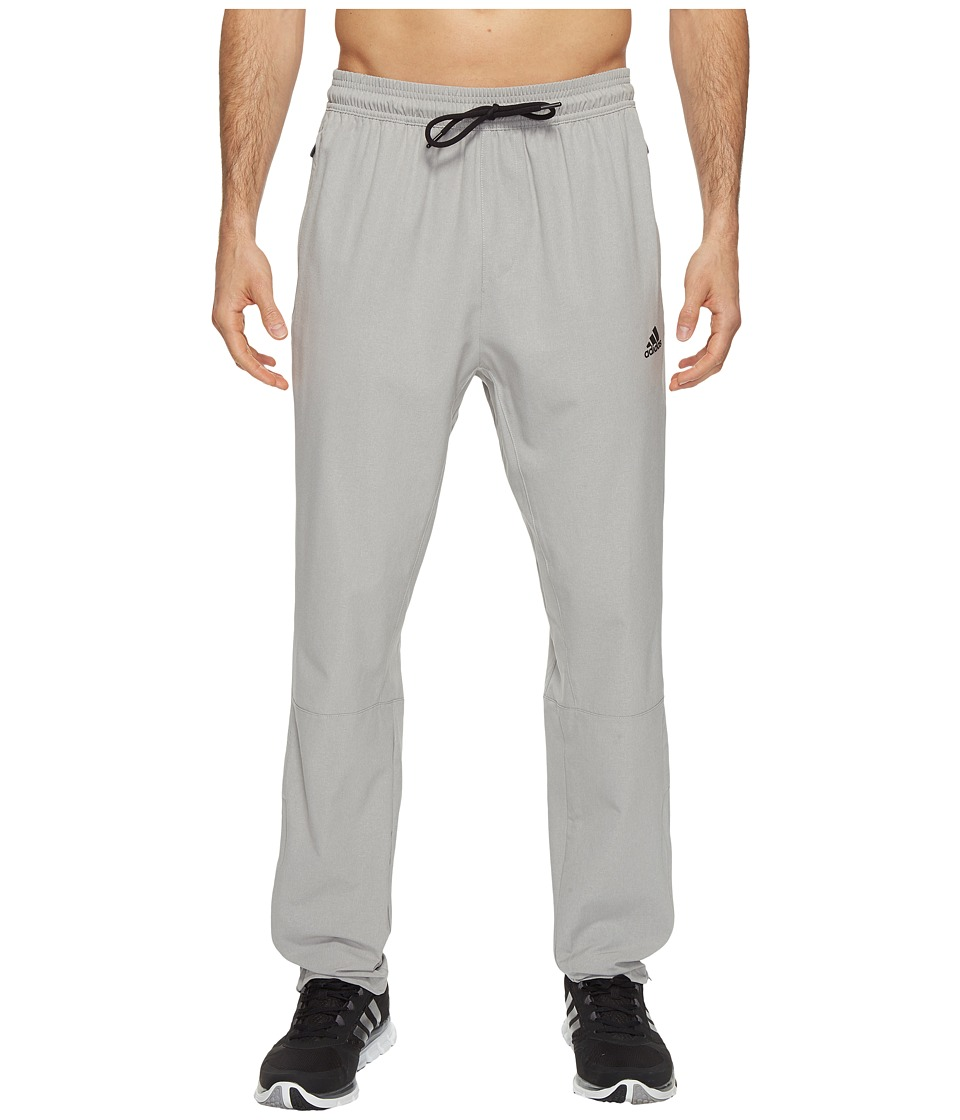 adidas - Running Woven Pants (Medium Grey Heather) Men's Casual Pants