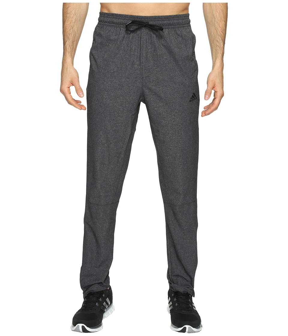 adidas - Running Woven Pants (Black) Men's Casual Pants