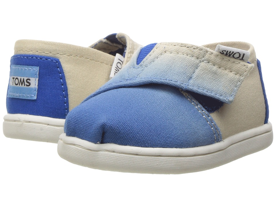 TOMS Kids - Seasonal Classics (Infant/Toddler/Little Kid) (Cobalt Dip Dye) Girls Shoes