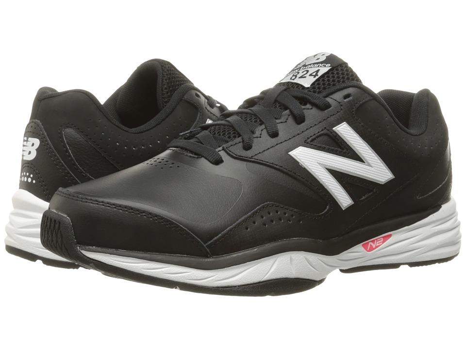 New Balance - WX824v1 (Black) Women's Running Shoes