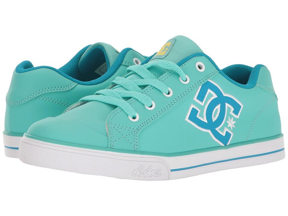 DC Kids - Chelsea SE (Little Kid/Big Kid) (Turquoise) Girls Shoes