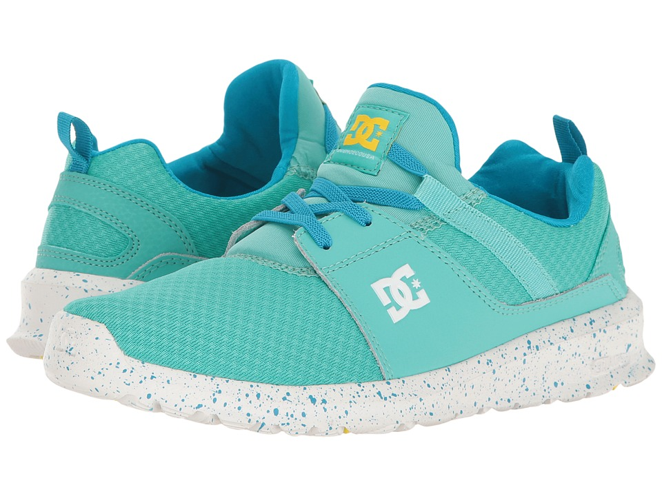 DC Kids - Heathrow SE (Little Kid/Big Kid) (Turquoise) Girls Shoes