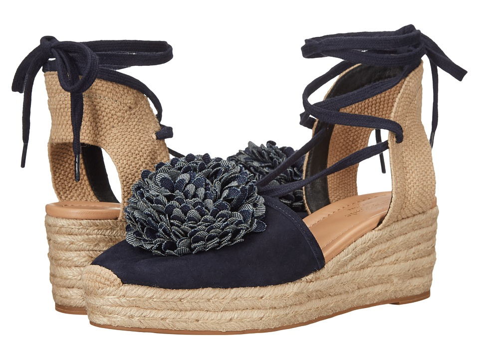 Kate Spade New York - Lafayette (Navy Kid Suede) Women's Shoes