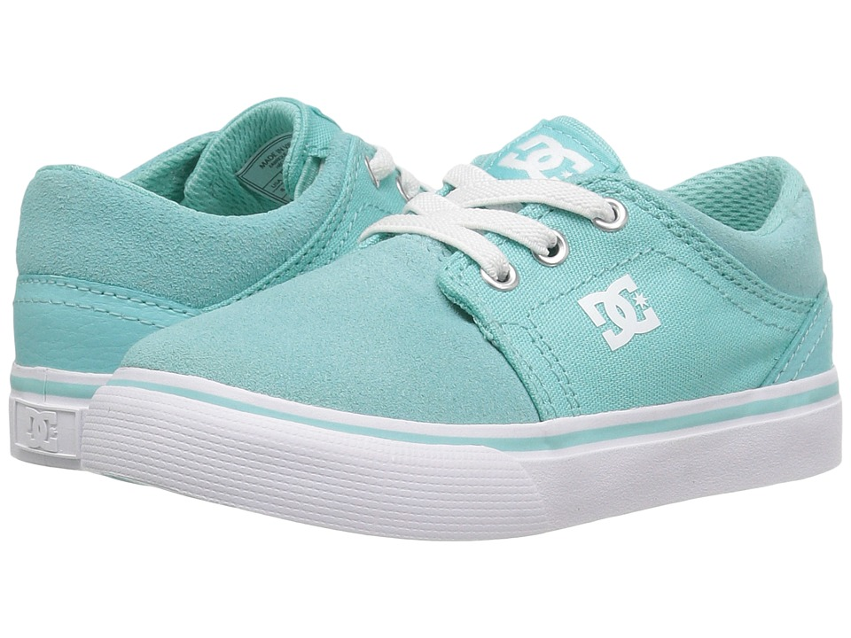 DC Kids - Trase Slip (Toddler) (Aqua) Girls Shoes