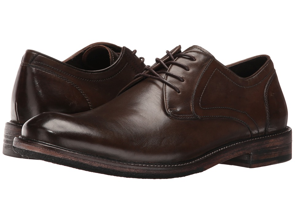John Varvatos - Sid Crepe Derby (Dark Brown) Men's Shoes