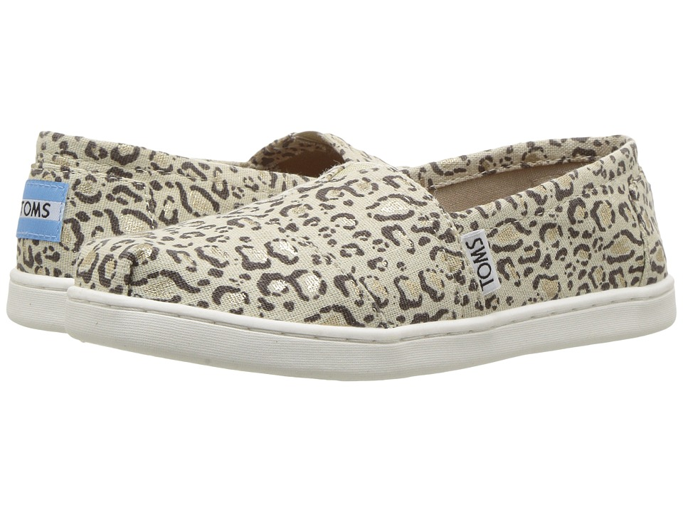 TOMS Kids - Seasonal Classics (Little Kid/Big Kid) (Natural Bob Cat) Girls Shoes