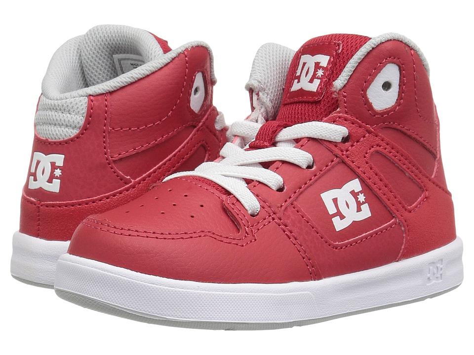 DC Kids Rebound UL (Toddler) (Red) Boys Shoes
