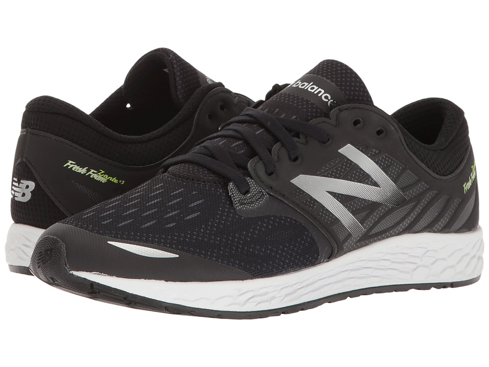 New Balance Kids Fresh Foam Zante v3 (Big Kid) (Black/Black) Boys Shoes