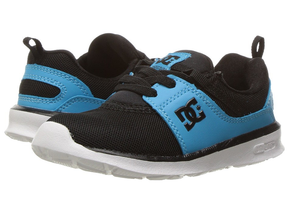 DC Kids - Heathrow (Toddler) (Black/Blue) Boys Shoes