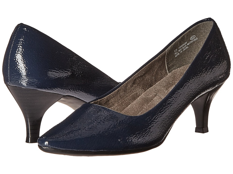 A2 by Aerosoles Foreward (Dark Blue Patent) Women