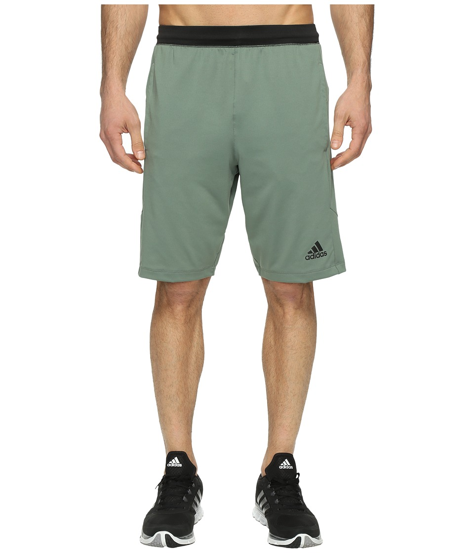 adidas - SpeedBreaker Hype Shorts (Trace Green S17) Men's Shorts