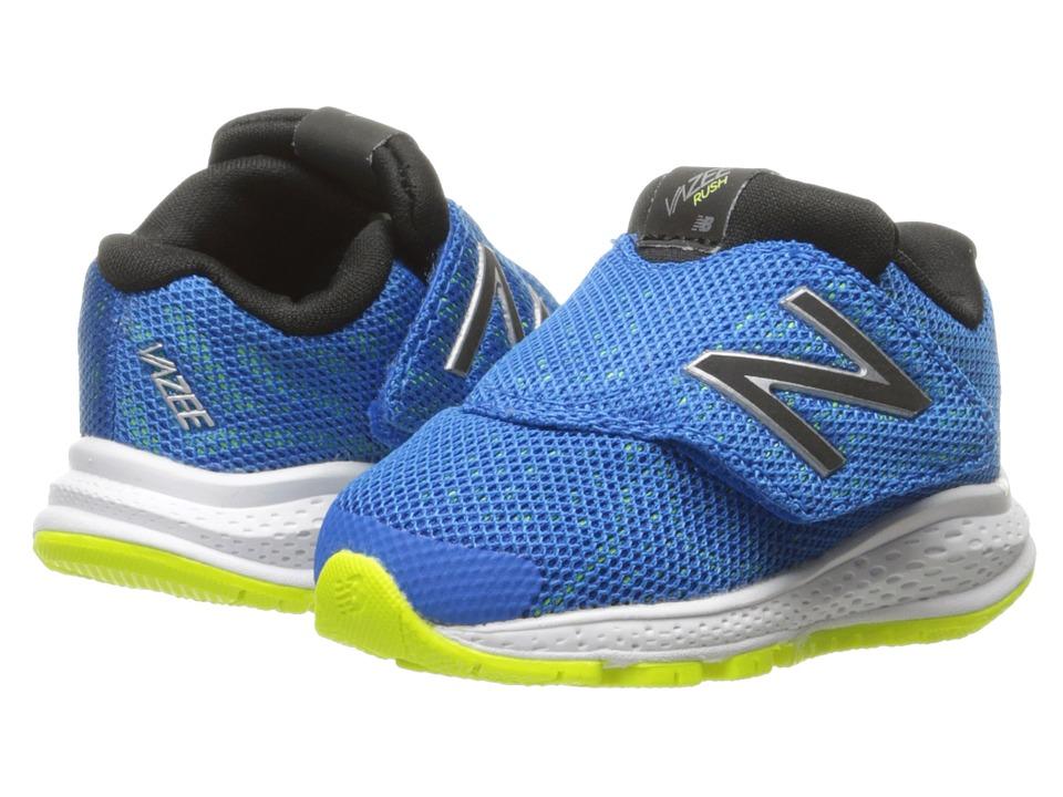 New Balance Kids Vazee Rush v2 (Infant/Toddler) (Blue/Blue) Boys Shoes