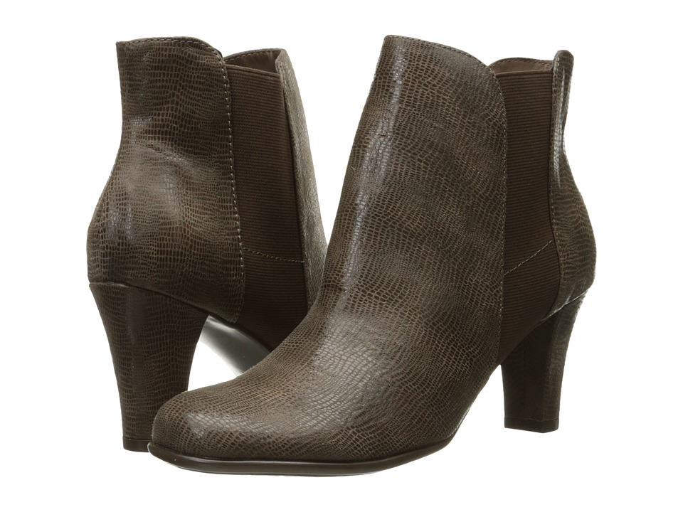 A2 by Aerosoles Strole Along (Taupe Snake) Women
