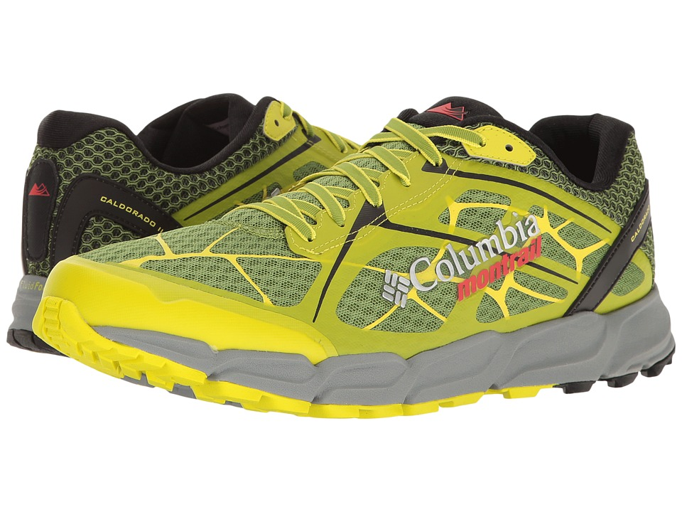 Columbia - Caldorado II (New Leaf Green/Zour) Men's Running Shoes
