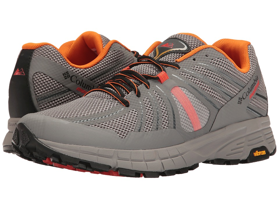 Columbia - Mojave Trail (Light Grey/White) Men's Running Shoes