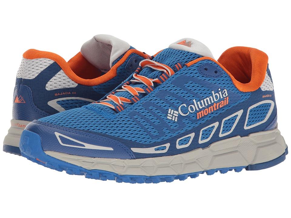 Columbia - Bajada III (Royal/Heatwave) Men's Running Shoes