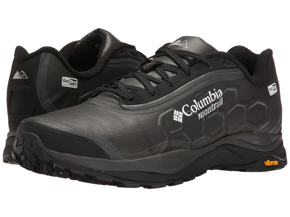 Columbia - Trient Outdry Extreme (Black/White) Men's Running Shoes