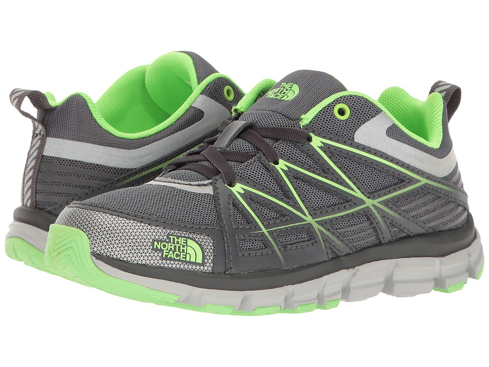The North Face Kids - Endurance (Little Kid/Big Kid) (Zinc Grey/Power Green) Boys Shoes