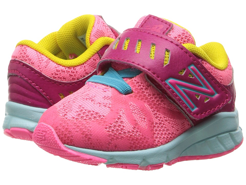 New Balance Kids - KV200v1 (Little Kid) (Pink/Blue) Girls Shoes