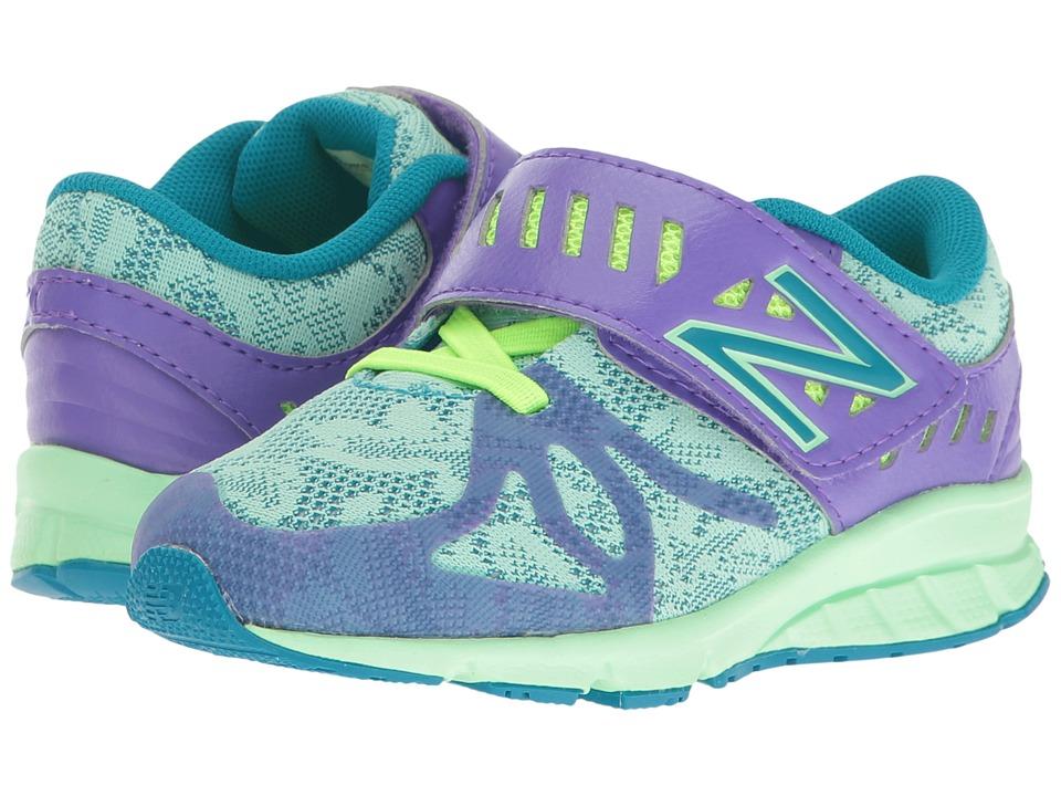 New Balance Kids - KV200v1 (Infant/Toddler) (Purple/Green) Girls Shoes