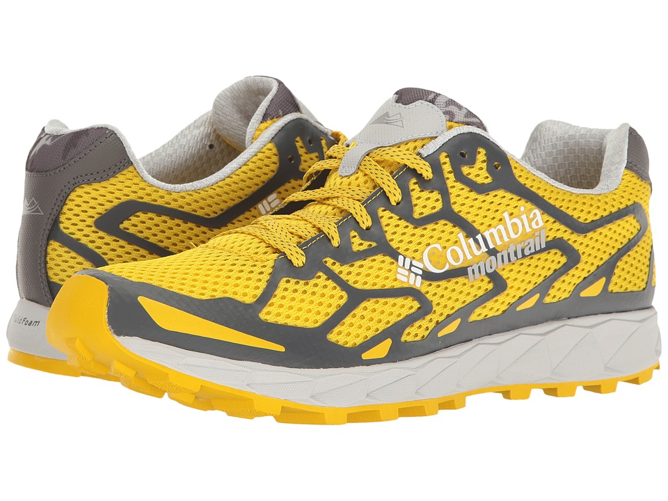 Columbia - Rogue F.K.T (Electron Yellow/Dark Fog) Men's Running Shoes