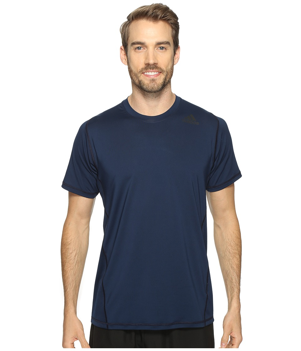 adidas - Utility Tech Short Sleeve Tee (Collegiate Navy) Men's Short Sleeve Pullover