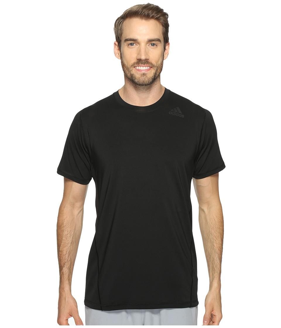 adidas - Utility Tech Short Sleeve Tee (Black) Men's Short Sleeve Pullover