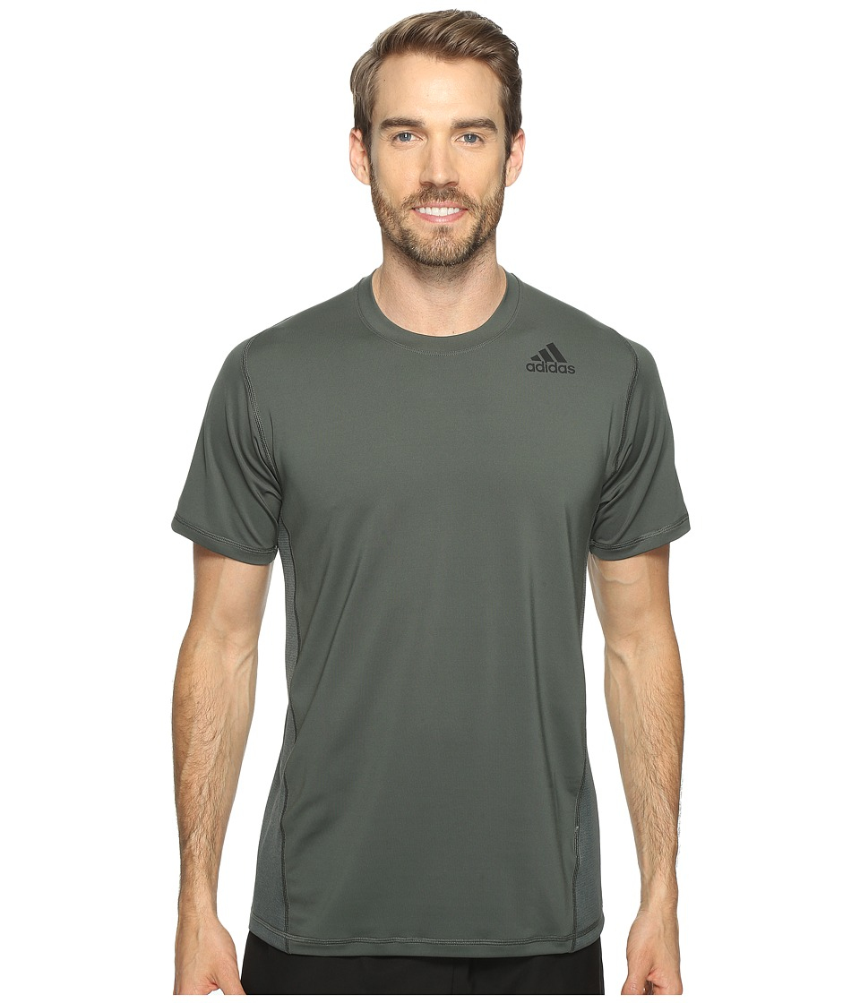 adidas - Utility Tech Short Sleeve Tee (Utility Ivory) Men's Short Sleeve Pullover