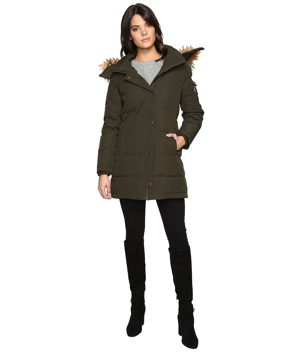 MICHAEL Michael Kors - Down Jacket M822368T (Army Green) Women's Coat