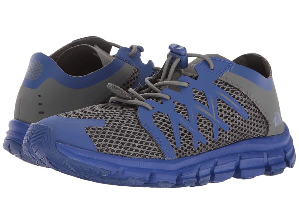 The North Face Kids - Litewave Flow (Toddler/Little Kid/Big Kid) (Zinc Grey/Marker Blue) Boys Shoes